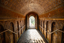 Tunnel At The Temple Of The Ho...