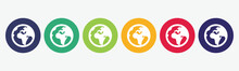 Collection Of 6 Web Buttons Wi...
