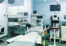 Empty Operating Room With Clea...