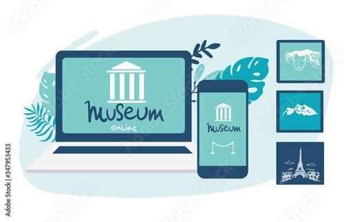 Interactive museum exhibition Slika na platnu