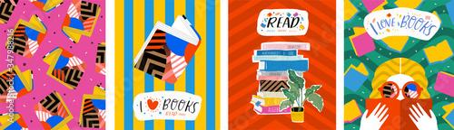 I love books Tapéta, Fotótapéta