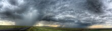 Panoramic View Of Thunderstorm...