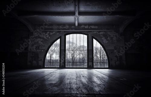 Fototapeta Interior Of Tunnel