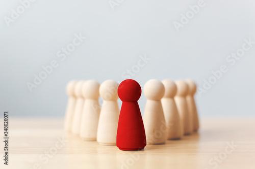 Cuadros en Lienzo Human resource, Talent management, Recruitment employee, Successful business tea