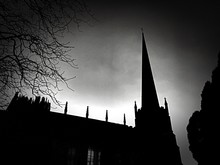 Silhouette Of Place Of Worship