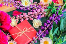 Summer Multicolored Peonies, D...