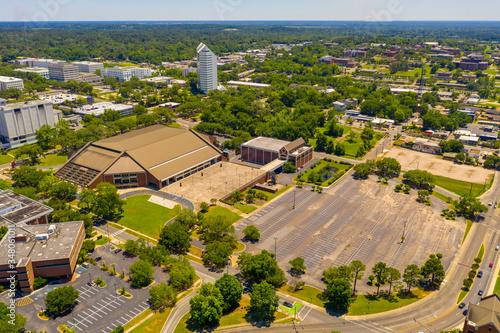 Fotografie, Obraz Aerial photo Donald L Tucker Civic Center Tallahassee FL