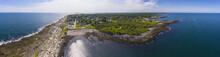 Aerial View Of Cape Elizabeth ...
