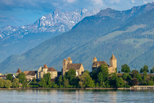 View Of Old City Of Rapperswil...