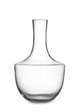 Empty Decanter On White Backgr...