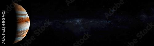 Jupiter in space concept Wallpaper Mural