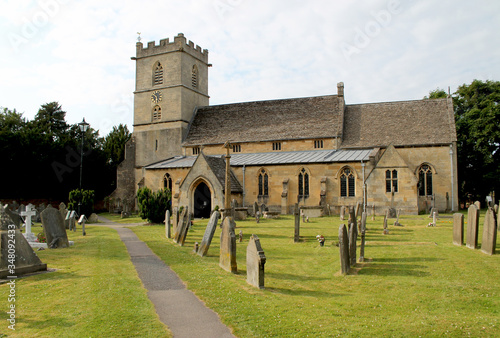 Photo Cemeteries Outside St Peter Church At Prestbury