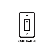 LIGHT SWITCH ICON , TURN OFF L...