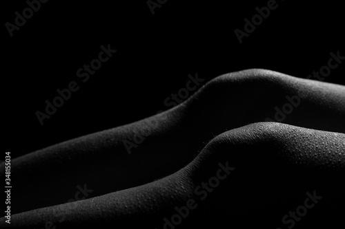 Fotomural Rodillas de mujer