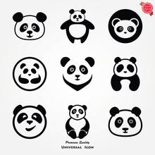 Panda Icon. Vector Image Of A ...