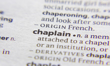 Chaplain Word Or Phrase In A D...