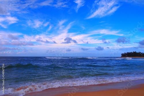 Fototapeta Scenic View Of Sea Against Sky obraz na płótnie