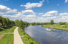 Bicycle Path Along The River E...