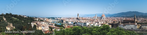 Fotografie, Obraz Aerial view of Firenze