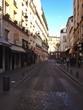 View Of Street Between City Buildings