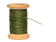 Sewing Threads Spool  Isolated...