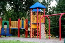 Playground Equipment At Park