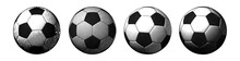 Engraving Soccer Ball In Vario...