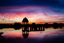 Gadsisar Sagar Lake In Jaisalm...