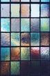 Leinwandbild Motiv Full Frame Shot Of Multi Colored Stained Glass