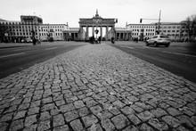 Brandenburg Gate Against Sky