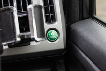 Car Eco Fuel Economy  Button Ignition Remote Starter. Car Dashboard