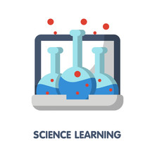 Science Learing Online Flat St...