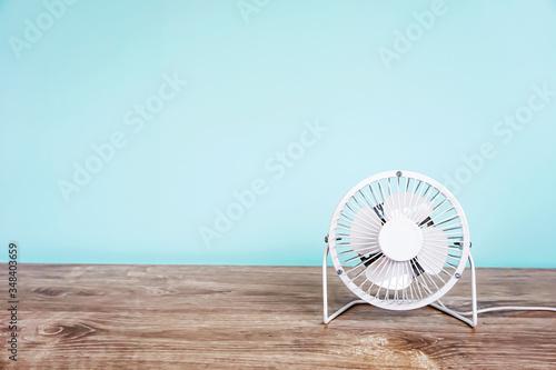 Fan, wind, cool, summer, etc. 扇風機、風、涼、夏など Wallpaper Mural