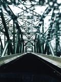 Lower Trenton Bridge Seen Windshield