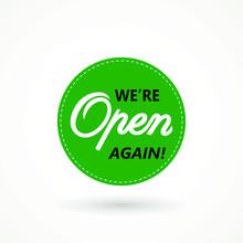 We're Open Again On Speech Bub...