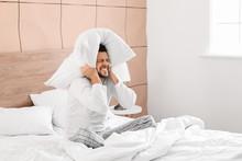 Man Cannot Sleep Because Of Ro...