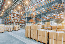 Large Industrial Warehouse Wit...