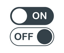 On Off Activate Slider Buttons...