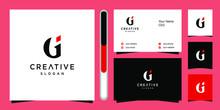 GI Letter Colorful Logo, Desig...