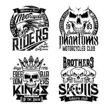 Skull T-shirt Prints. Grunge V...