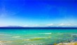 Leinwandbild Motiv Scenic View Of Beach Against Sky