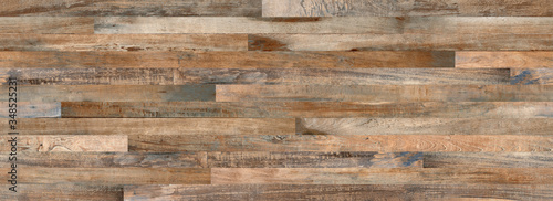Fotografia Natura parquet wood texture, antique background, wood wall paneling texture