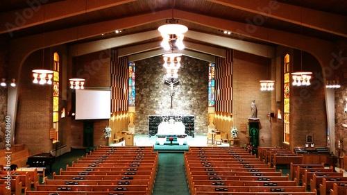 Tela Modern Church Interior