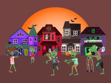 Concept Zombie Apocalypse Hous...