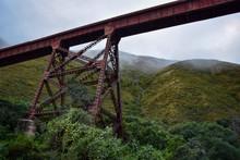 Steel Bridge Surround Fog