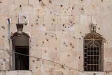 Civil War Damage In Aleppo, Syria