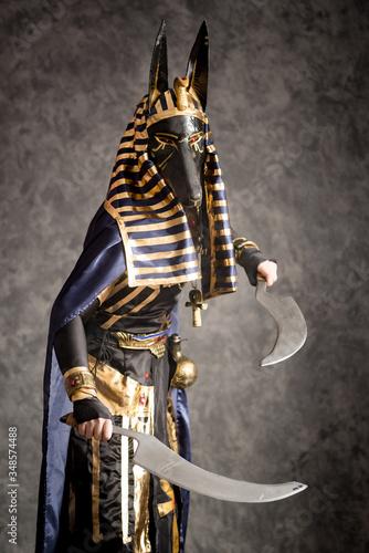 Photo Cosplay Costume Egyptian God Anubis