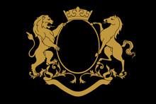 A Coat Of Arms Crest Heraldic ...