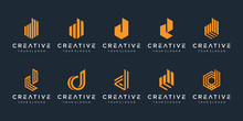 Set Of Creative Letter D Logo ...