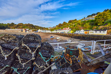 Image Of The Harbour At Low Ti...